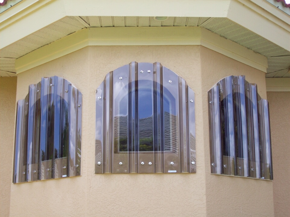 Clear Storm Panels Rollsecure Shutters Inc