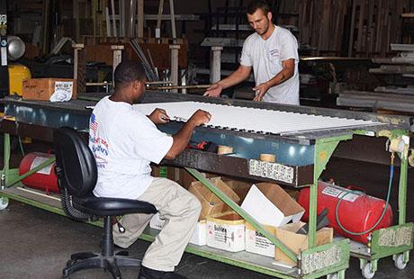 Manufacturing Team Rollsecure Shutters Inc